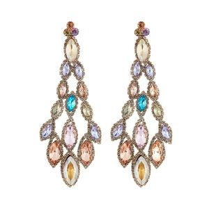 New Neiman Marcus Marquise Crystal earrings